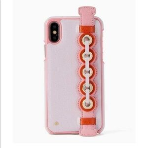 Kate Spade Maisie Grommet Hand Strap iPhone Case